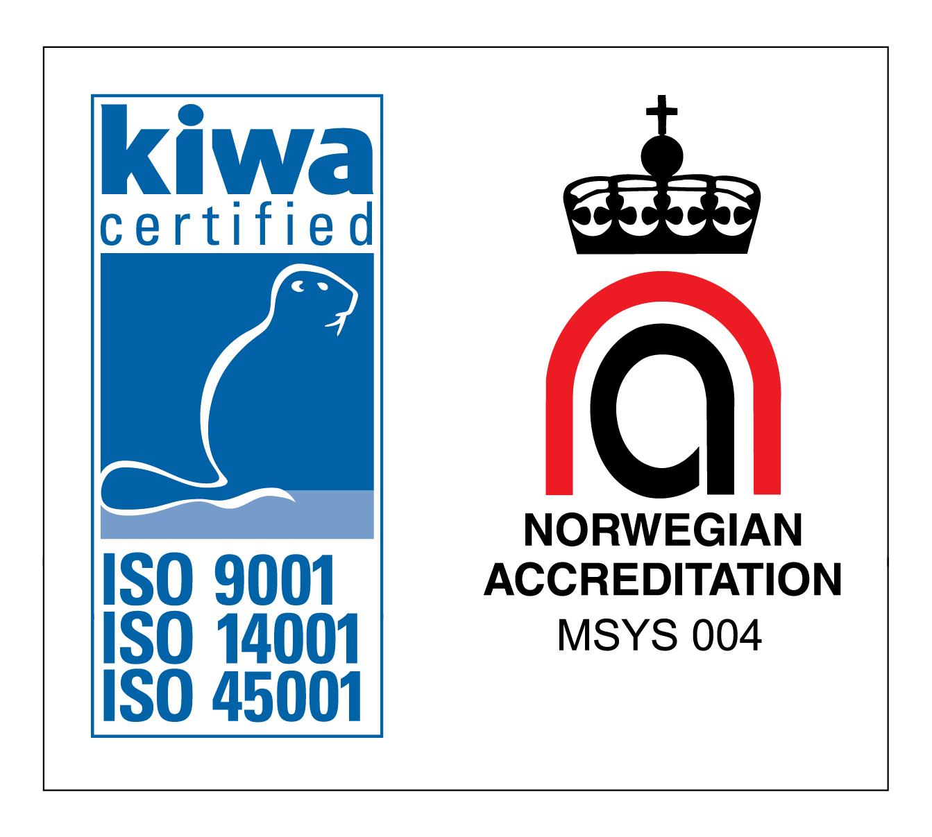 - ISO-Sertifisering